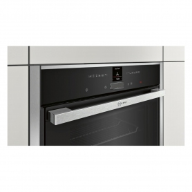 Neff Pyrolytic Slide & Hide Built In Electric Single Oven - Stainless Steel - A+ Rated - 1